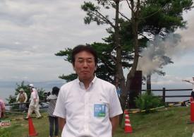 安芸区山本厚生部長さんです。 いつもパンをたくさん買ってくれますありがとう。