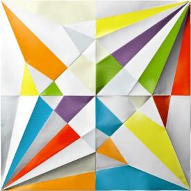 「ずっと折り鶴 ずっと折り紙」(カラー)