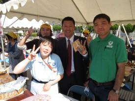 広島県会議員の畑石さんも来て下さいました!