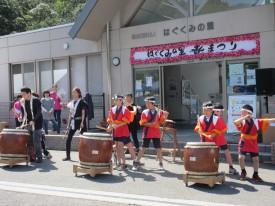 上温品和太鼓クラブの皆様による和太鼓演奏