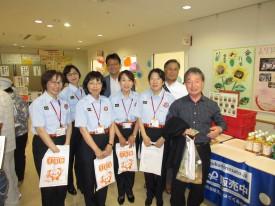 西村前区長と広島市消防局員さんも来て下さりました