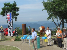 松井市長のあいさつ