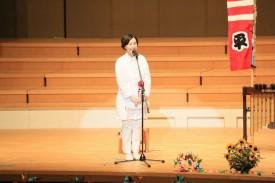 ANT-Hiroshima理事長渡部朋子さんによる協力団体代表挨拶